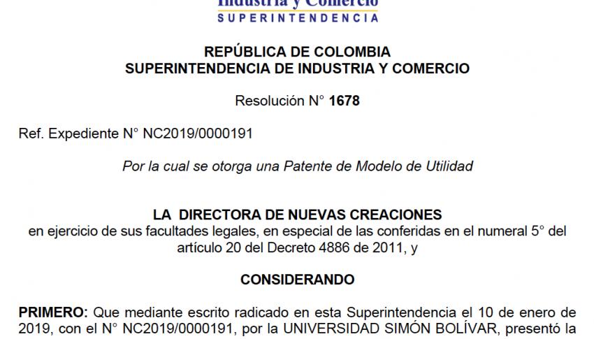 Patente de Dron Submarino (Sepia Rov)/MacondoLab – UNISIMÓN.  Experiencia de intercambio de conocimiento y colaboración universidad – empresa